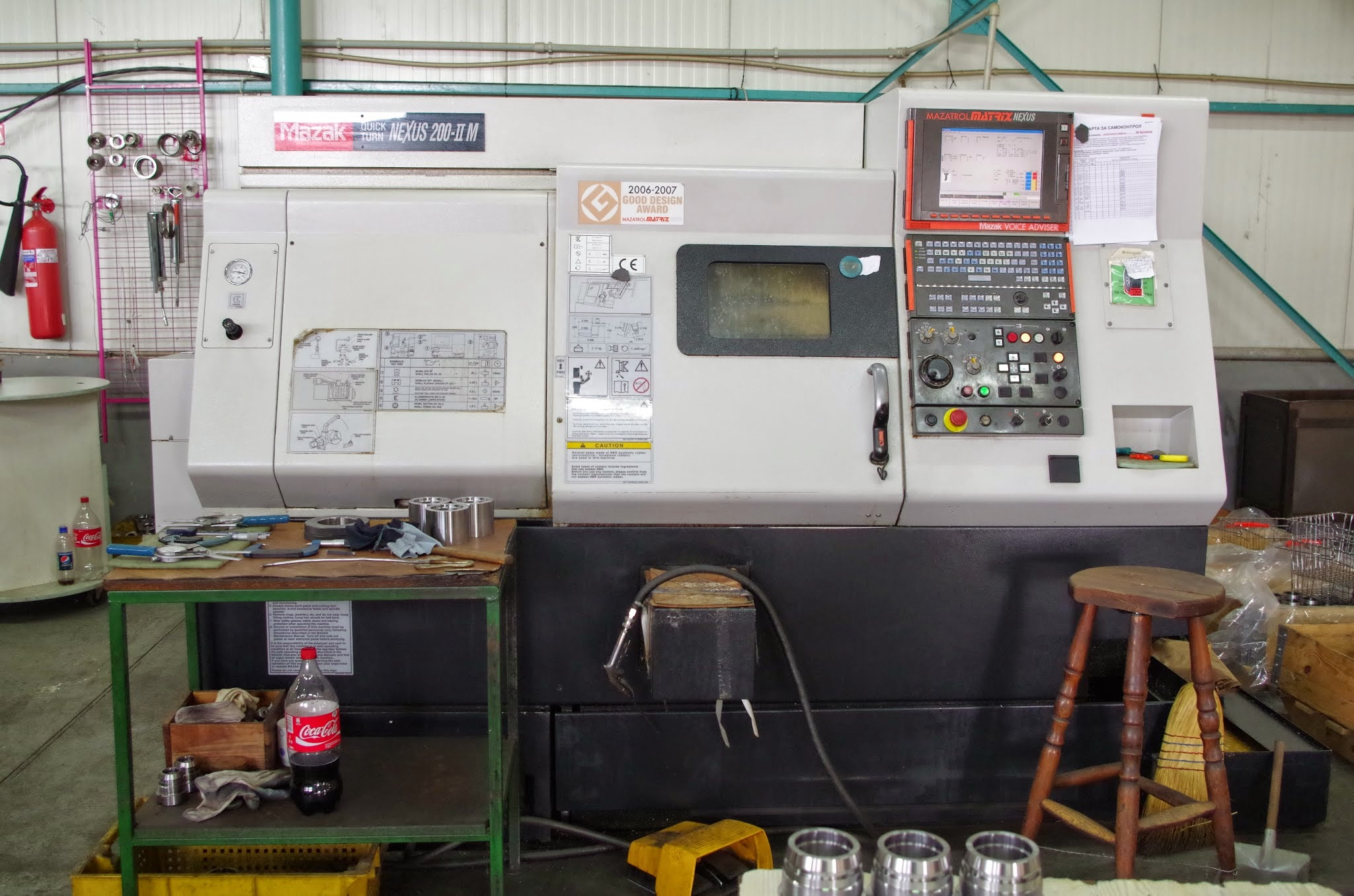 MAZAK QUICK TURN NEXUS 200IIM